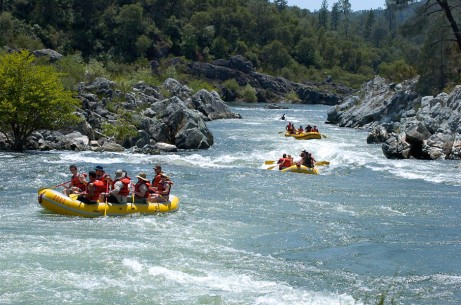 american river picture white water rafting conditions