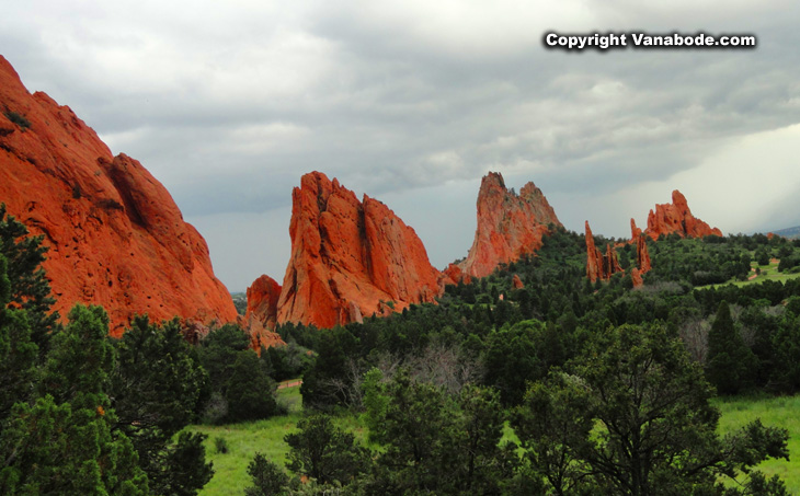 Colorado's Garden of the Gods park  easy parking and lots of shade