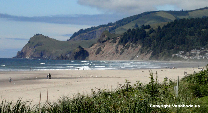 lincoln city beach oregon picture