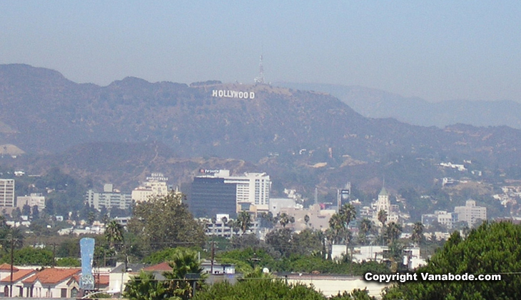 los angeles hollywood sign picture