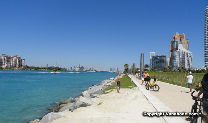 picture of inlet park in miami south beach