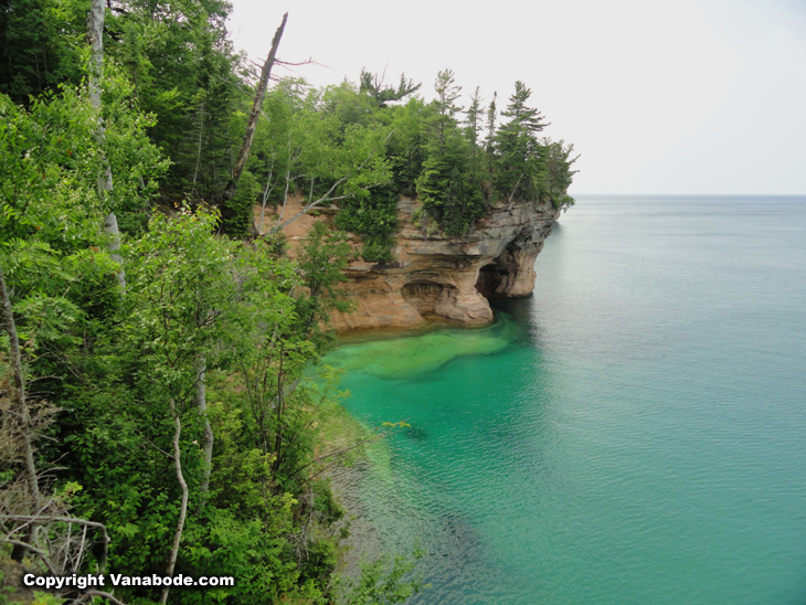 Pictured Rocks National Lakeshore Park Lake Superior